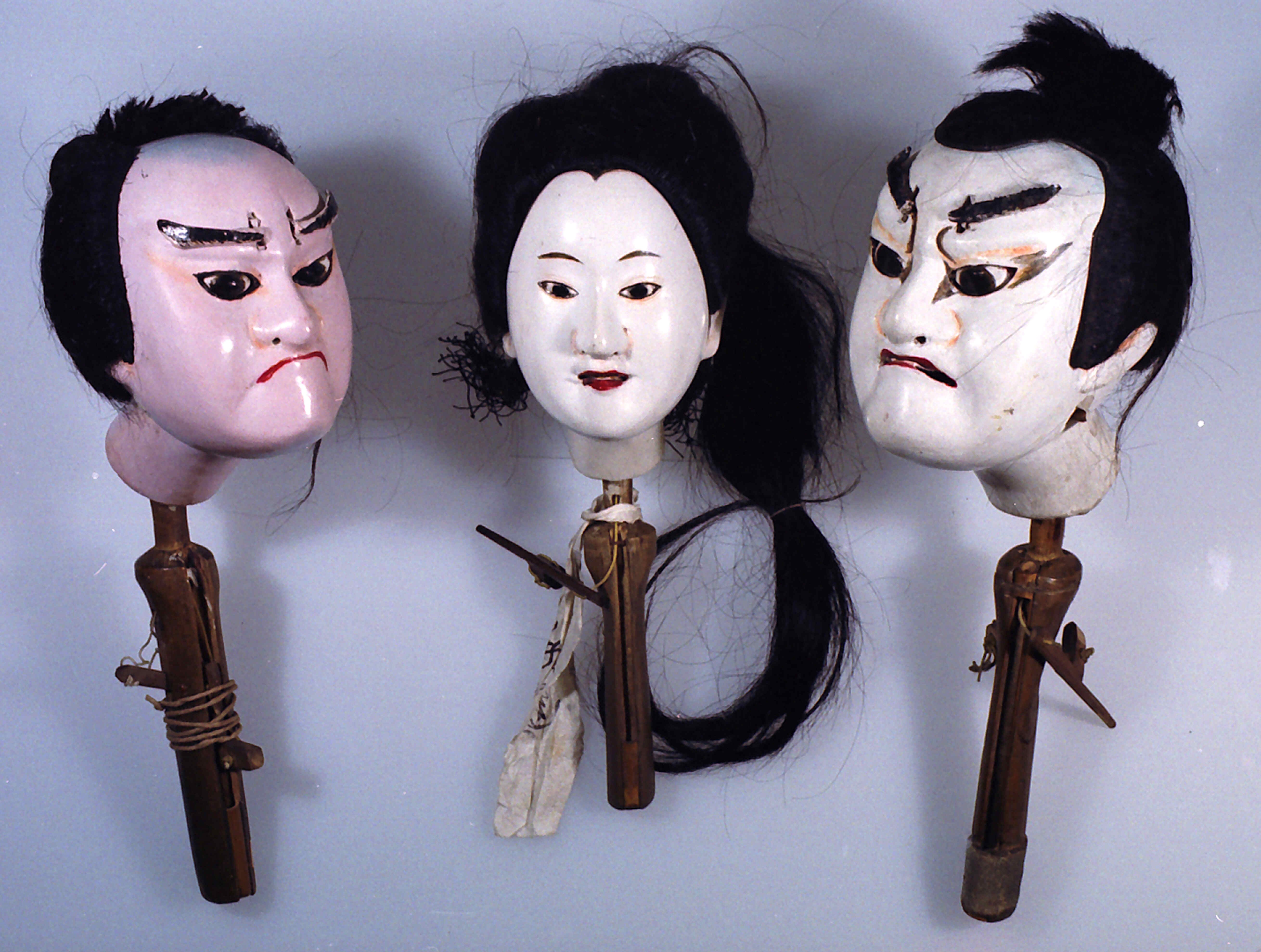 浄瑠璃人形かしら及び衣装 - 港区の文化保護目録 | 港区立郷土歴史館